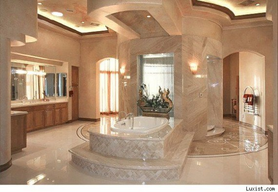 celebrity bathroom