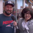 Miley Cyrus Disguises As A Reporter And Asks Everyone About Herself!