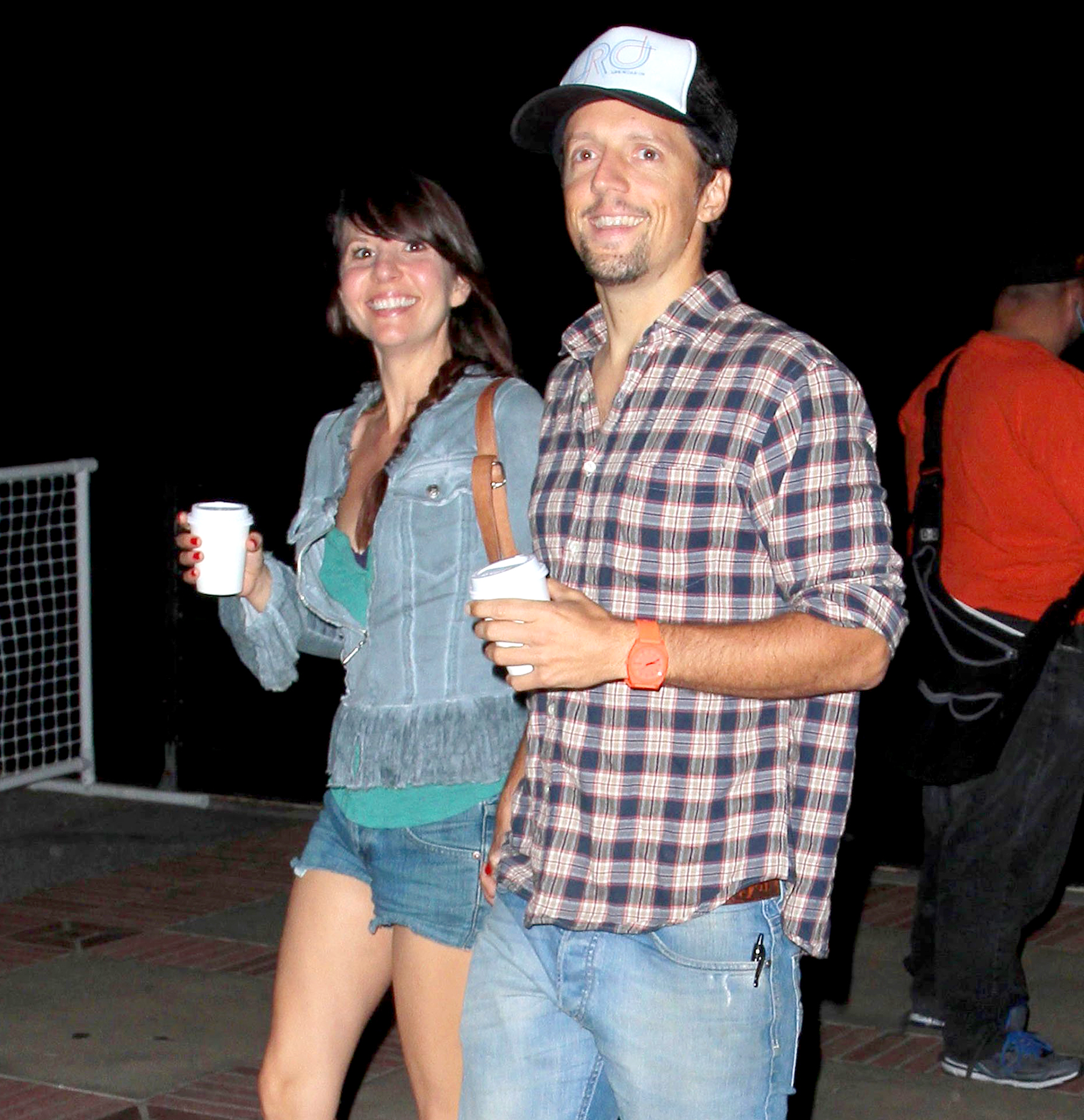 Jason Mraz and Tina Carano