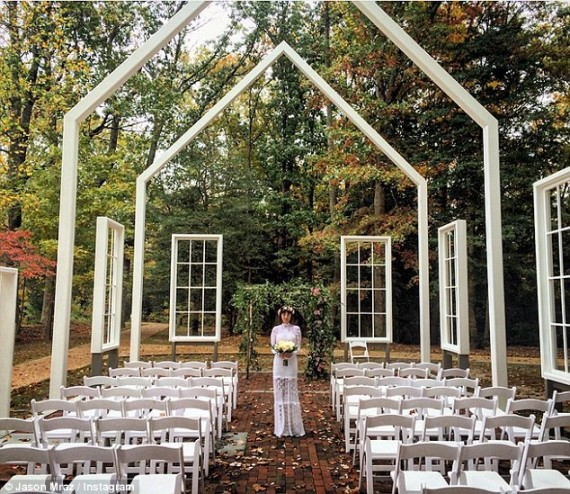 Jason Mraz and Tina Carano wedding