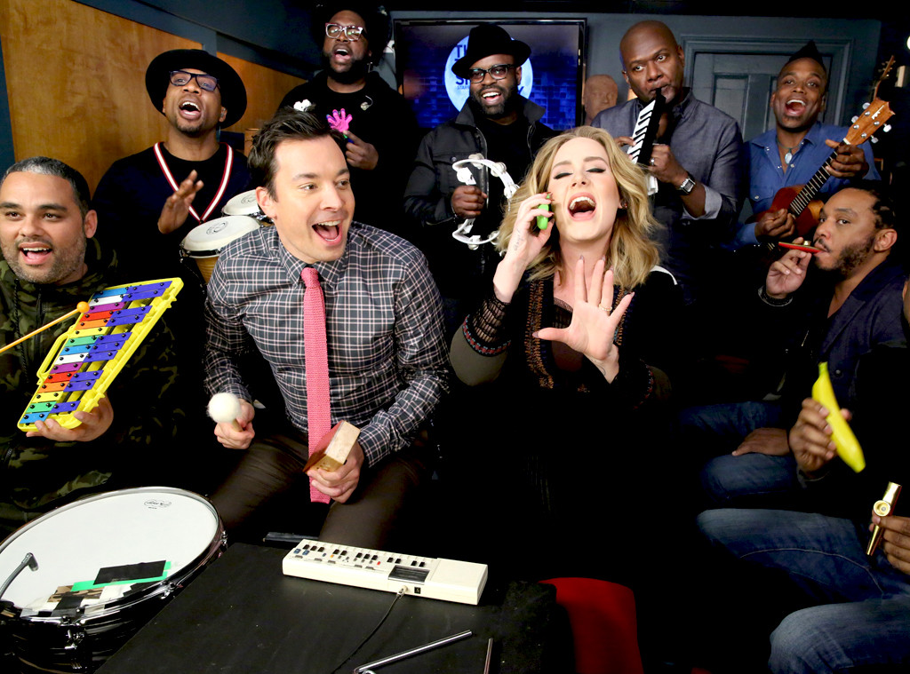 Of Course, Jimmy Fallon Sang Along With Adele!