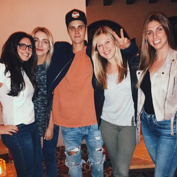 Justin Bieber at Montage Beverly Hills