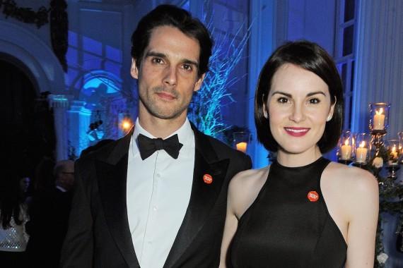 Michelle Dockery and John Dineen