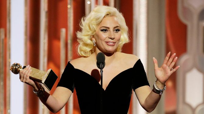 Lady Gaga Wins A Golden Globe?! [VIDEOS]