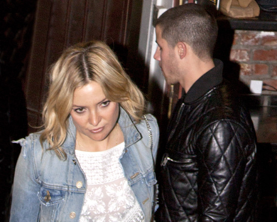 Kate Hudson and Nick Jonas
