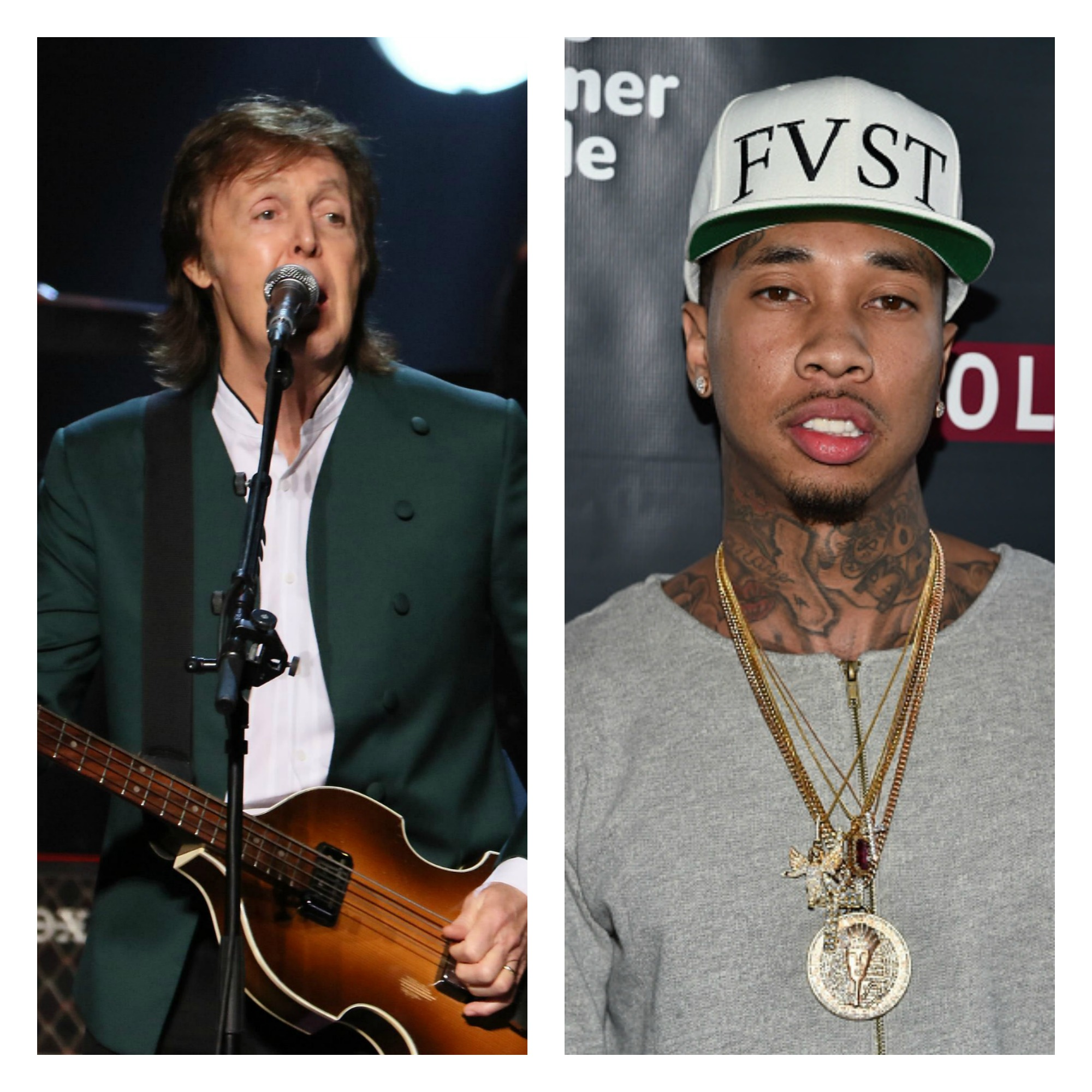 Paul McCartney Can't Party With Tyga?!