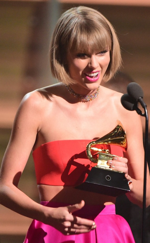 Taylor Swift Grammys 2016