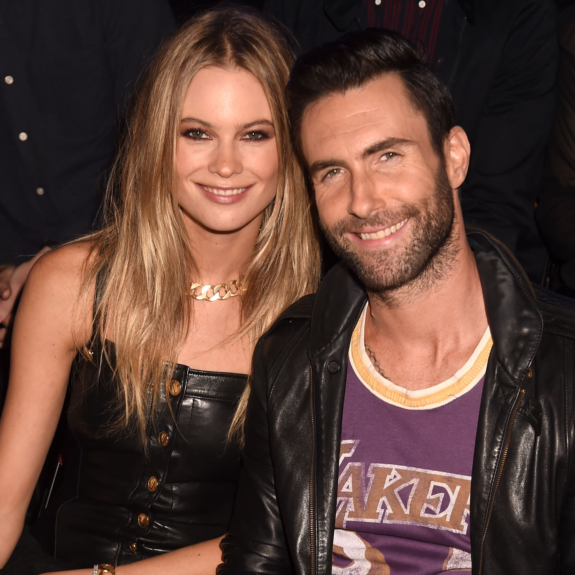 2014 MTV Video Music Awards - Behati Prinsloo & Adam Levine