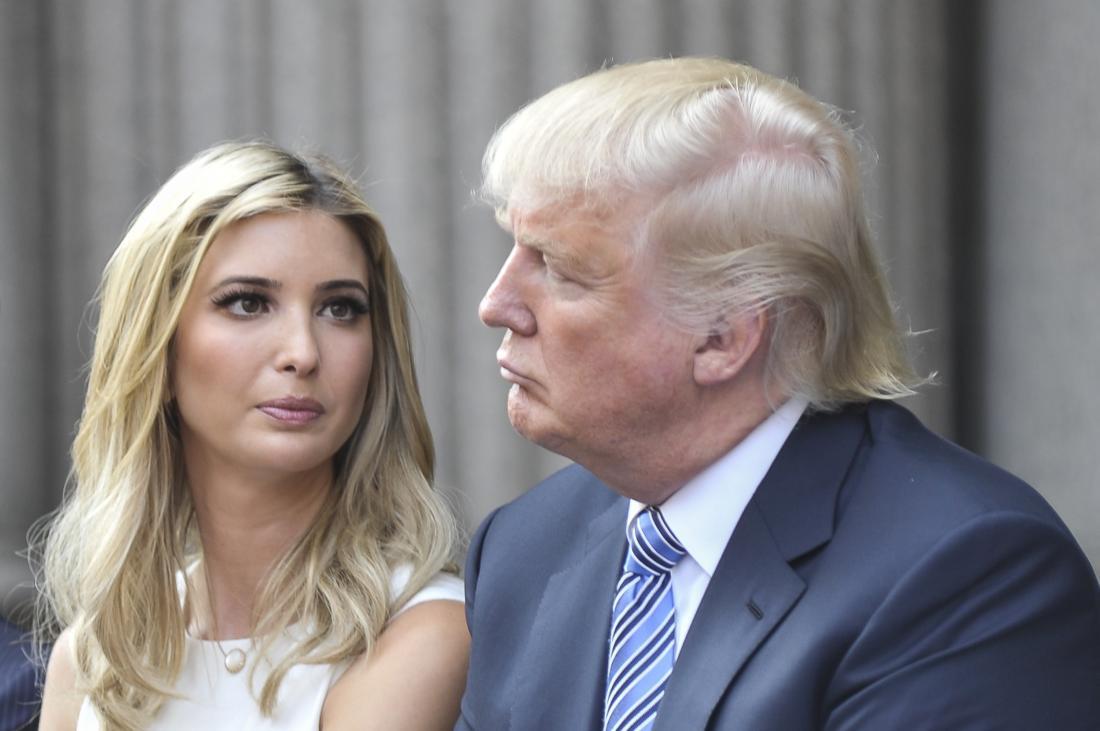 Trump International Hotel Washington, D.C Groundbreaking Ceremony - Ivanka and Donald Trump
