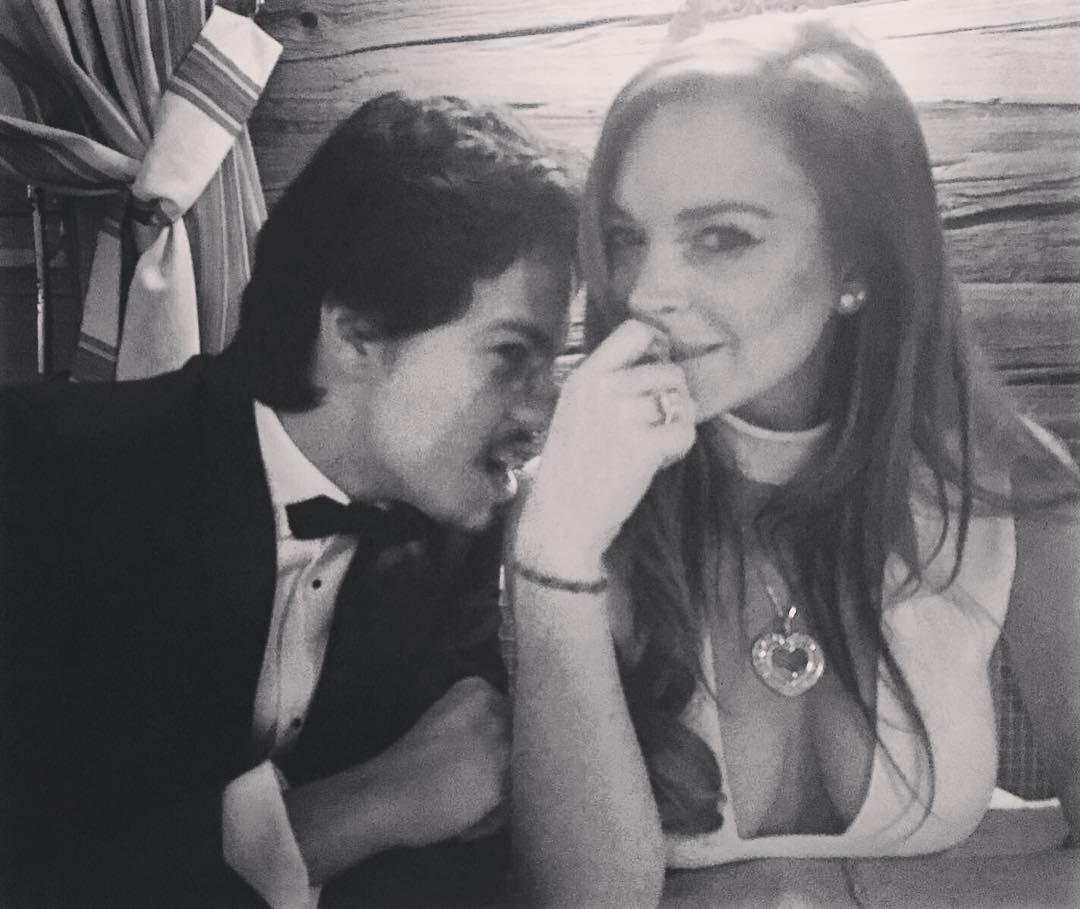 Lindsay Lohan Finds Love In Egor Tarabasov!