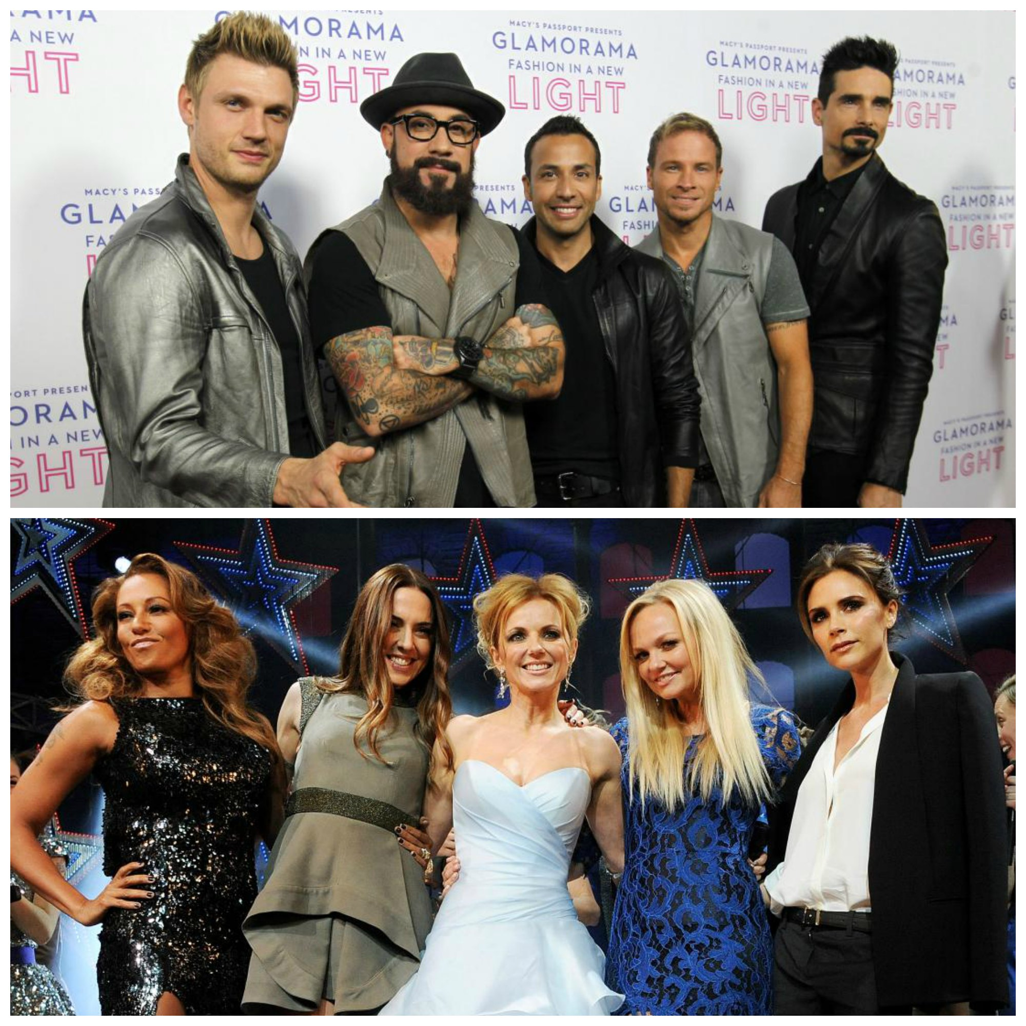 BSB and Spice Girls