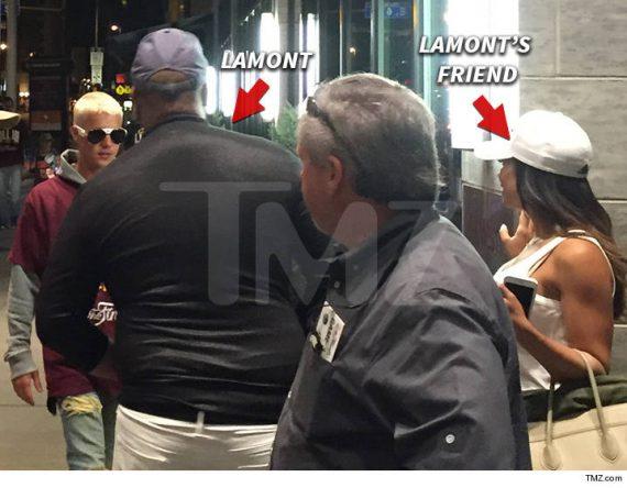 Justin Bieber - Lamont Richmond fight