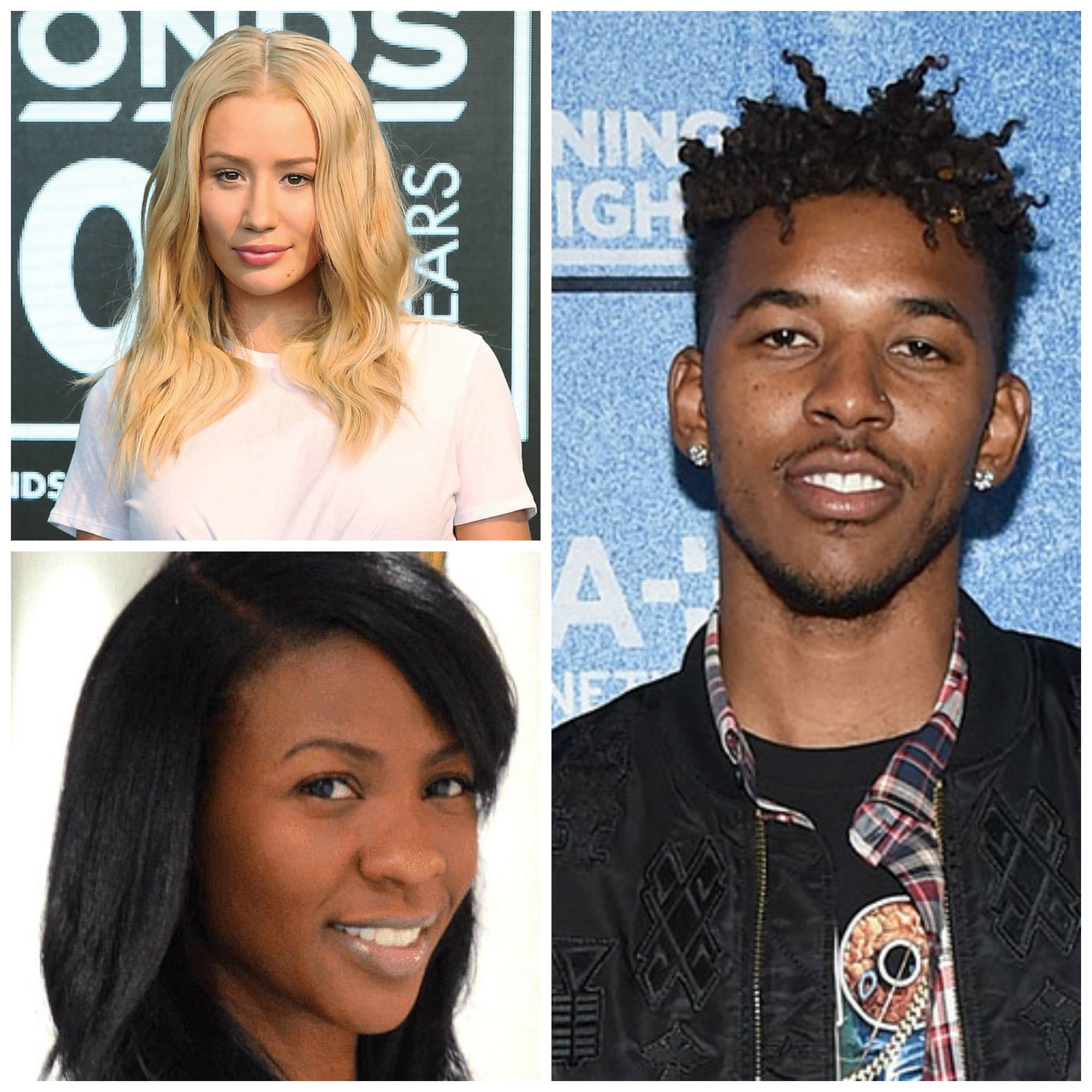Nick Young, Iggy Azalea, Keonna Green