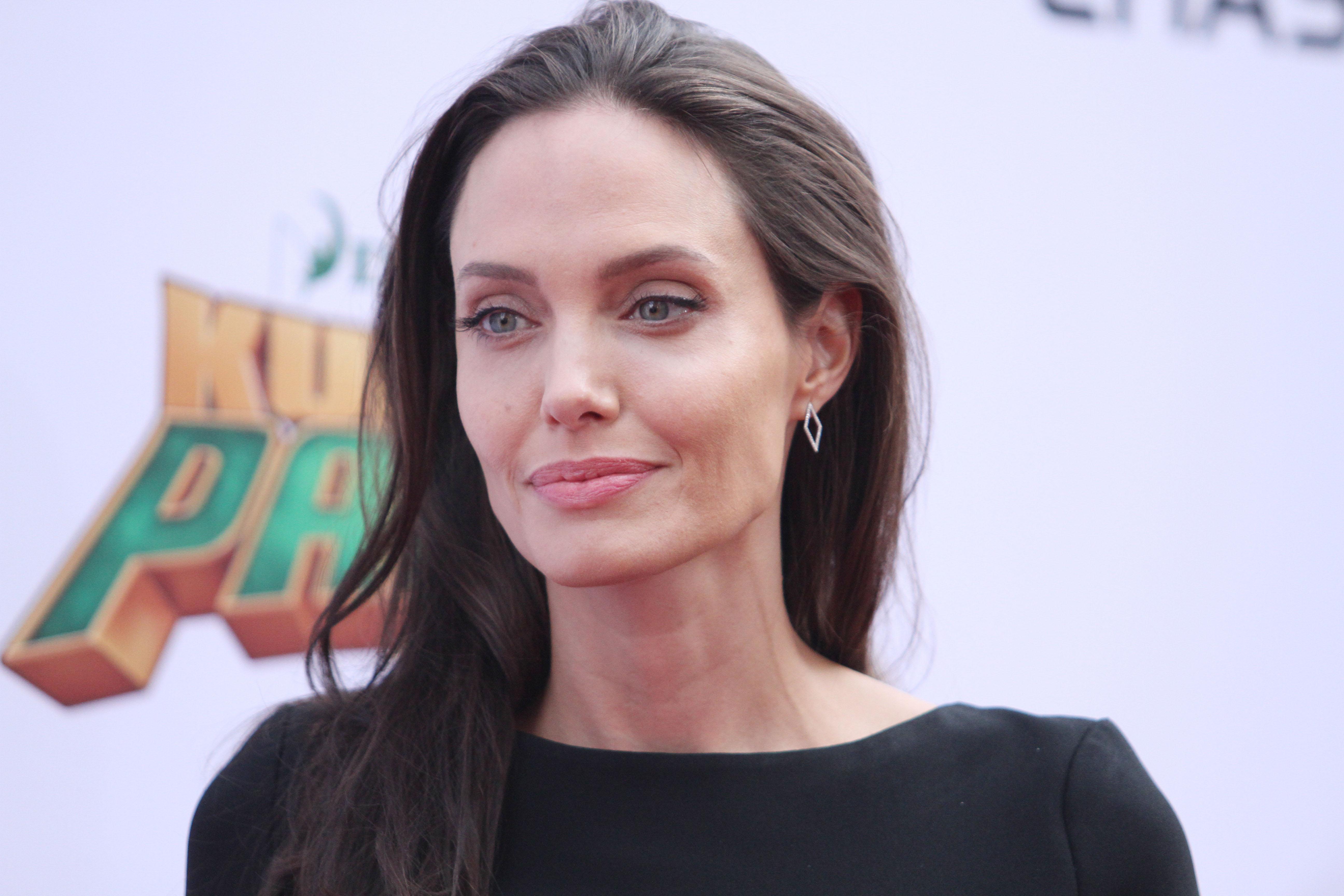 'Kung Fu Panda 3' film premiere, Los Angeles, America - Angelina Jolie
