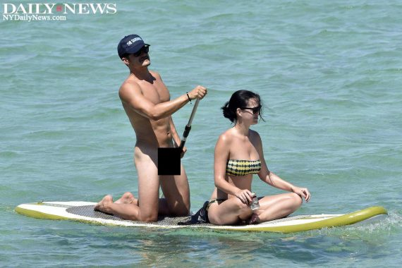 Katy Perry and Orlando Bloom nude