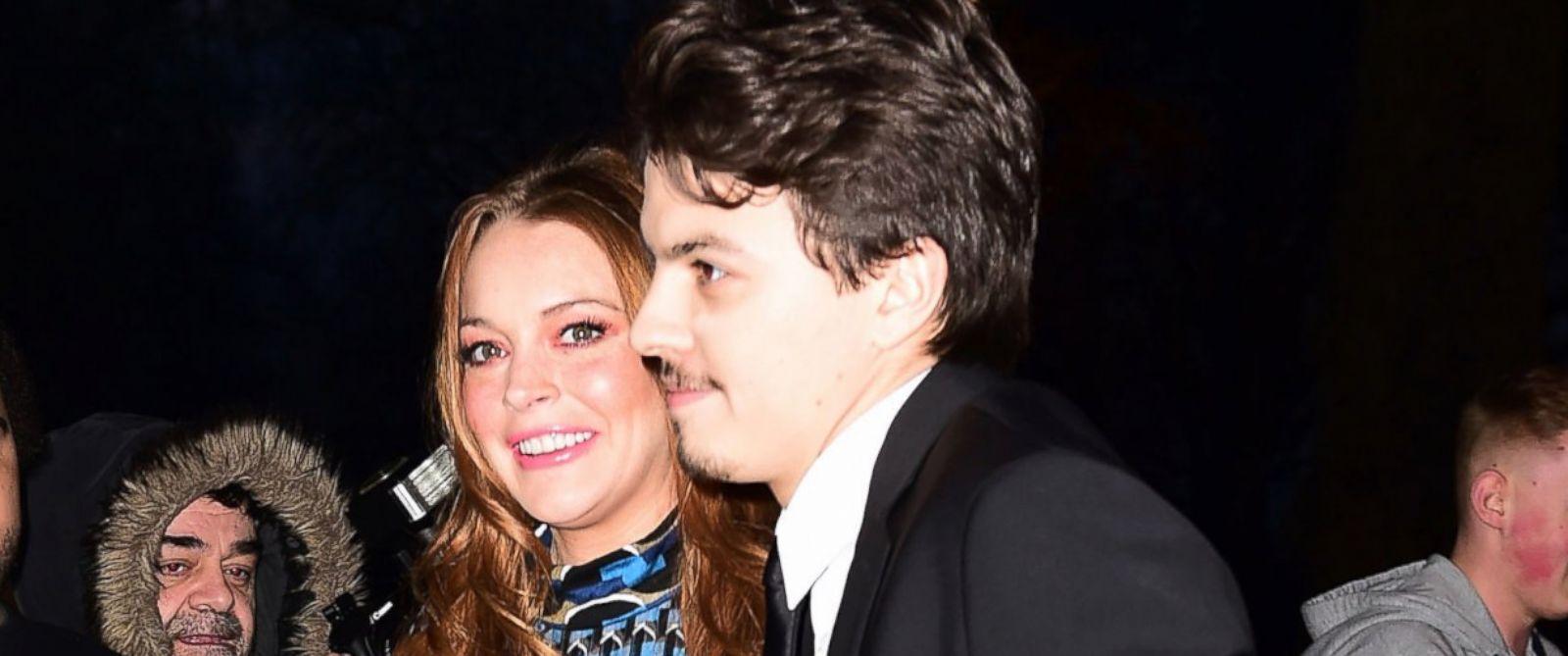 Lindsay Lohan and Igor Tarabasov